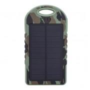 Powerbank со встроенной солнечной батареей Solar Power Bank 10000 mAh (Камуфляж)