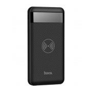 Аккумулятор с беспроводной зарядкой Hoco J11 Astute Wireless Power Bank 10000mAh (Черный)