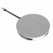 БЕСПРОВОДНАЯ ЗАРЯДКА QI WIWU Quantus Wireless Charger (Серый)