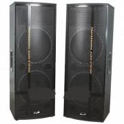 Комплект акустических колонок 2шт ElTronic V-212ch (Черный)