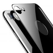Защитное стекло Baseus 0.3mm All-coverage Arc-surface Back Tempered Glass Film For iPhone 8 SGAPIPH8N-4D0G (Серый)