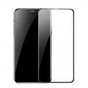Защитное стекло Baseus Full coverage curved tempered glass protector For iPhone XR 6.1 SGAPIPH61-KC01 (Черный)