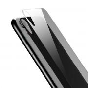 Защитное стекло Baseus Full tempered glass rear protector For iPhone XR 6.1Transparent SGAPIPH61-ABM02