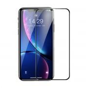 Защитное стекло Baseus 0.3mmRigid-edge curved-screen tempered glass screen protector For iPhone 6.5 SGAPIPH65-AJG01 (Черный)