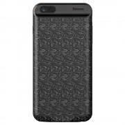Чехол-аккумулятор Baseus Plaid Backpack Power Bank 7300mAh для iPhone 7/8 Plus ACAPIPH7P-LBJ01 (Черный)