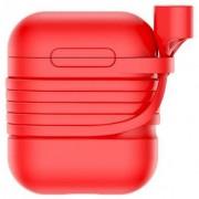 Чехол Baseus Baseus case for Airpods TZARGS-09 (Красный)