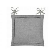 Подушка для стула Home&Style рогожка 40х40 см (Базальт)