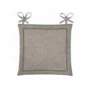 Подушка для стула Home&Style рогожка 40х40 см (Какао)