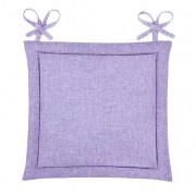 Подушка для стула Home&Style рогожка 40х40 см (Лаванда)