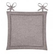 Подушка для стула Home&Style рогожка 40х40 см (Орех)