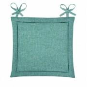 Подушка для стула Home&Style рогожка 40х40 см (Волна)