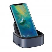 USB-концентратор Baseus Mate Docking Type-C Mobile Phone Intelligent HUB Expanded Socket CAHUB-S0G (Серый)