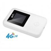 4G Wifi портативный маршрутизатор LTE беспроводной (Белый)