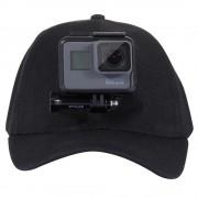 Кепка держатель для GoPro (Черный)