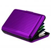 Кейс для кредитных карт Security credit card wallet (Фиолетовый)