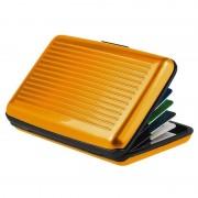 Кейс для кредитных карт Security credit card wallet (Оранжевый)