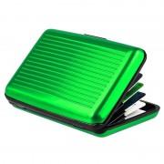 Кейс для кредитных карт Security credit card wallet (Зеленый)