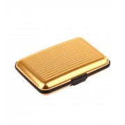 Кейс для кредитных карт Security credit card wallet (Золотой)