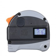 Лазерный рулетка измеритель метр со светодиодным дисплеем