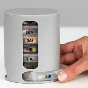 Органайзер для таблеток и витаминов из семи ячеек на каждый день PILL PRO