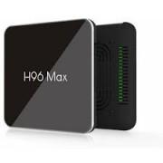 Приставка Android TV H96 MAX 4Gb + 32Gb 4K (Черный)