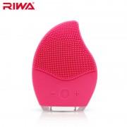 Ультразвуковая электрическая щетка для лица RIWA (Темно-розовый)