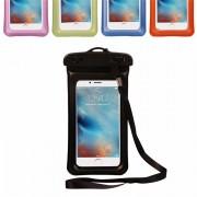 Универсальный плавающий водонепроницаемый чехол для телефона (Черный)