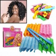 Волшебные бигуди для волос Magic Leverage Hair Curvz