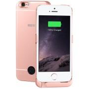 Interstep Чехол-аккумулятор INTERSTEP для iPhone 5 SE 2200 мАч IS-AK-PCIP5SERG-000B201 (Розовый)