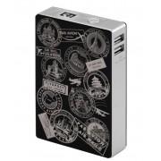 Interstep Внешний Аккумулятор INTERSTEP 12000мАч штамп IS-AK-PB120STAB-BLKB201 (Черный)