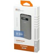 Interstep Внешний аккумулятор PB208004U мАч, 4USB/3A, Li-Ion