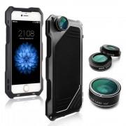 Противоударный чехол lens 3 для iphone 5/5s/se (Черный)