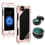 Противоударный чехол lens 3 для iphone 5/5s/se (Розовый)