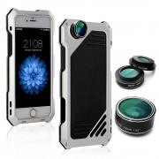Противоударный чехол lens 3 для iphone 7 plus iphone 8 plus (Серебрянный)