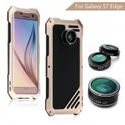 Противоударный чехол lens 3 для samsung s7/s7 edge (Розовый)
