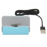 Док-станция зарядное устройство универсальное для смартфонов с Type-C (Голубой)
