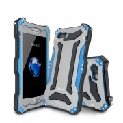 Противоударный чехол для Iphone 7 Plus Iphone 8 Plus gundam 3 proof r-just (Голубой)
