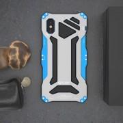 Противоударный чехол для iphone x iphone xs gundam 3 proof r-just (Голубой)