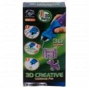3D ручка детская светящиеся чернила (фиолетовый)