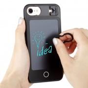 Чехол с LCD ЖК дисплеем для заметок на задней стороне для iPhone 7 plus iPhone8 plus