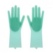 Силиконовые перчатки для мытья посуды (Разноцветный)