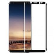 Защитное стекло 3D для Samsung Galaxy S8 Plus (Черный)