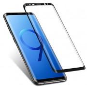 Защитное стекло 3D для Samsung Galaxy S9 (Черный)
