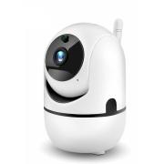 Беспроводная ip камера с wi-fi Artificial intelligence HD 1080P искусственный интеллект 2 мп (Белый)
