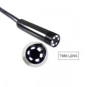 Гибкая видеокамера автомобильный USB Endoscope Android 2 мегапикселя 5,5 мм