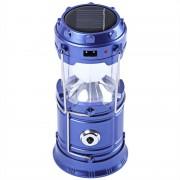 Кемпинговый фонарик SH-5811F USB с вентилятором (Синий)