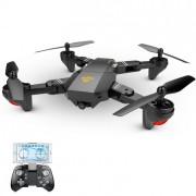 Квадрокоптер TIANQU Visuo XS809HW с WIFI 720p камерой (Черный)