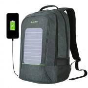 Рюкзак Антивор с солнечной батареей Baibu 1916 для ноутбука 15.6 дюймов (Серый)