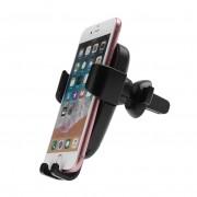 Автомобильный держатель мобильного телефона с функцией беспроводной зарядки Qi 10W