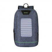 Водонепроницаемый рюкзак с солнечной батареей Baibu 1916 для ноутбука (Синий)
